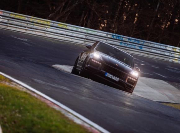 Porsche Cayenne Coupe GT: найшвидший кросовер Нюрбургринга
