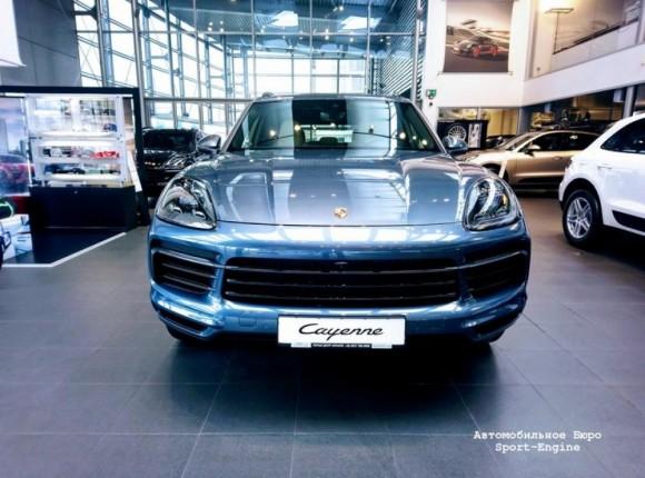 Porsche Cayenne 2018MY: первая встреча в Украине