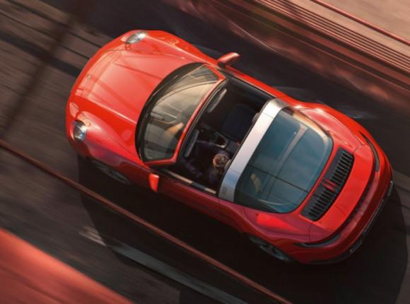 Новий Porsche 911 Targa: справжня сонцезалежність
