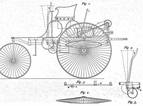 Ювілейна серія. Патент 37435: в цей день 135 років тому перший в світі автомобіль Бенца отримав