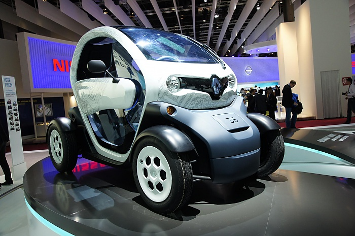 Renault Twizy at Paris-2010