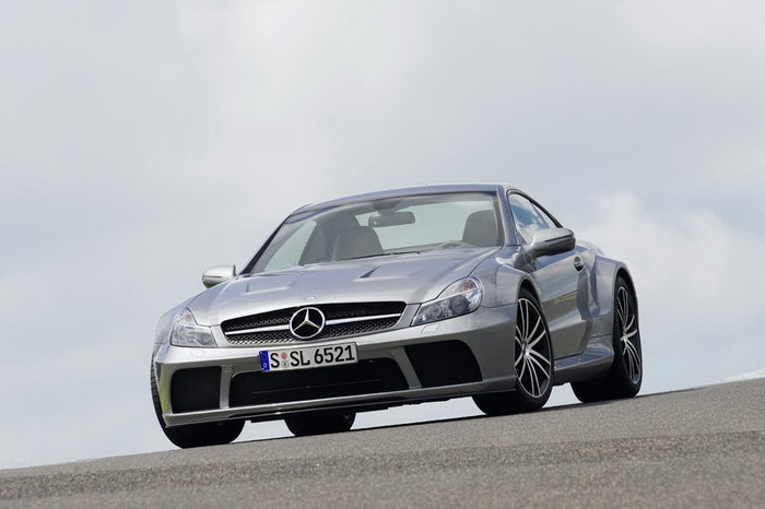 Mercedes-Benz SL-65 AMG Black (2009)
