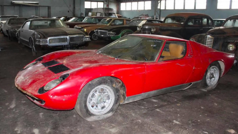 automotive-treasures-in-january-2019 Lamborghini Miura P400 1968