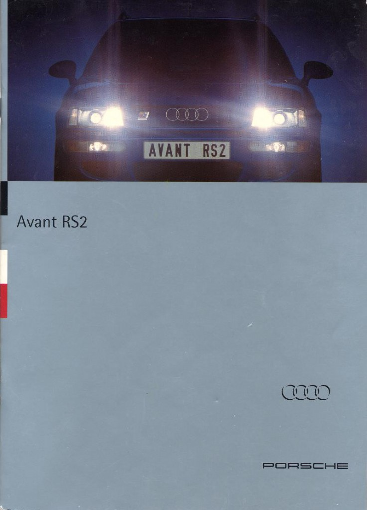 Audi RS2 march 1994 - july 1995