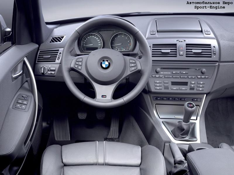 BMW X3 3.0i M Sport Package 2005 interior