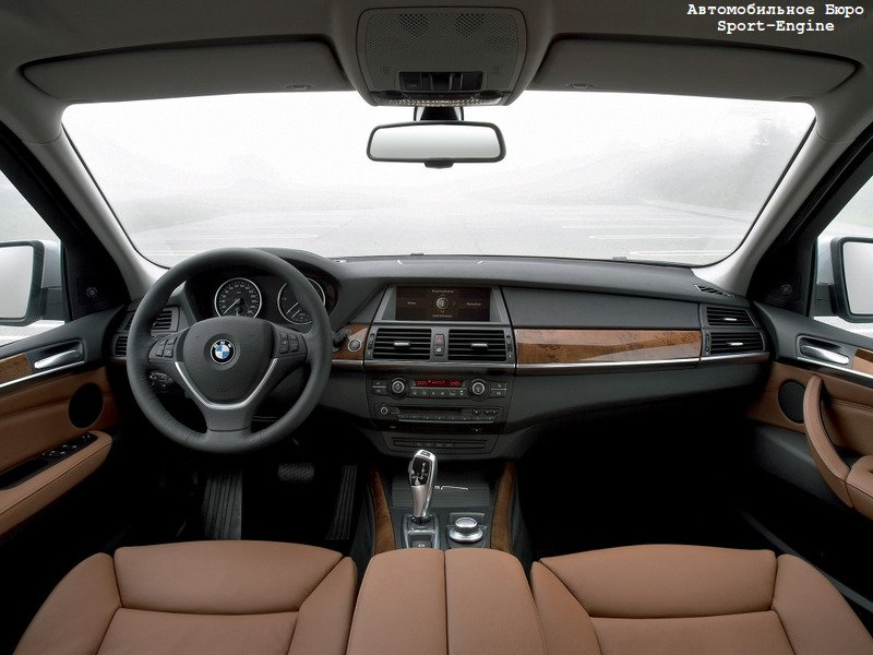 BMW X5 3,0d E70 2007MY interior