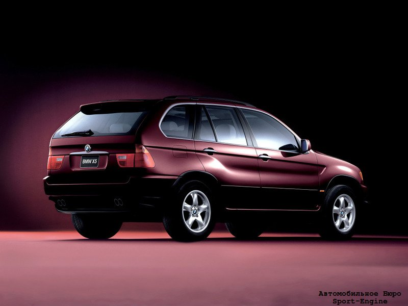 BMW X5 first generation (E53) 1999-2003