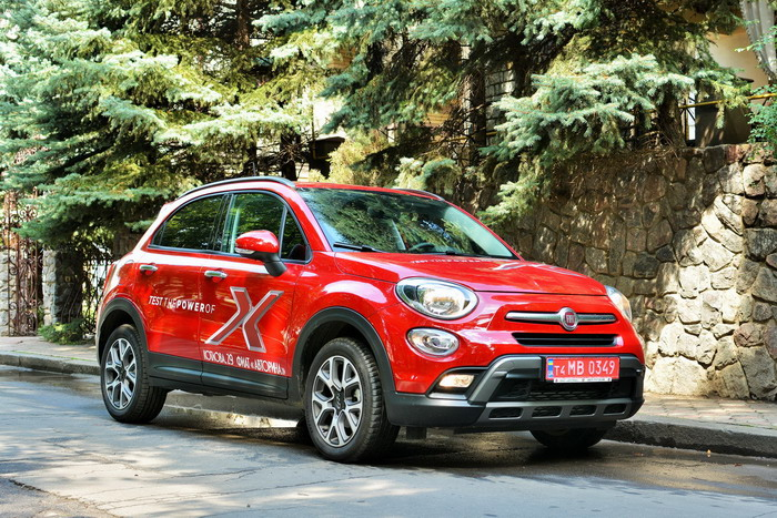 FIAT 500X Cross test-drive