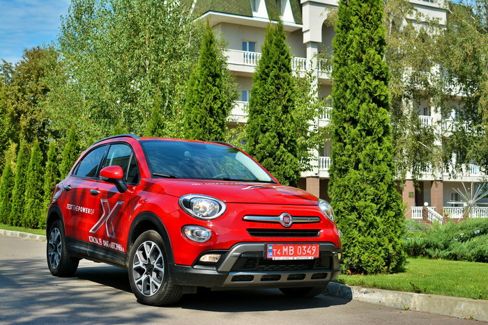 FIAT 500X Cross nest-drive by AB Sport-Engine