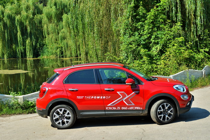 FIAT 500X Cross test-drive by AB Sport-Engine