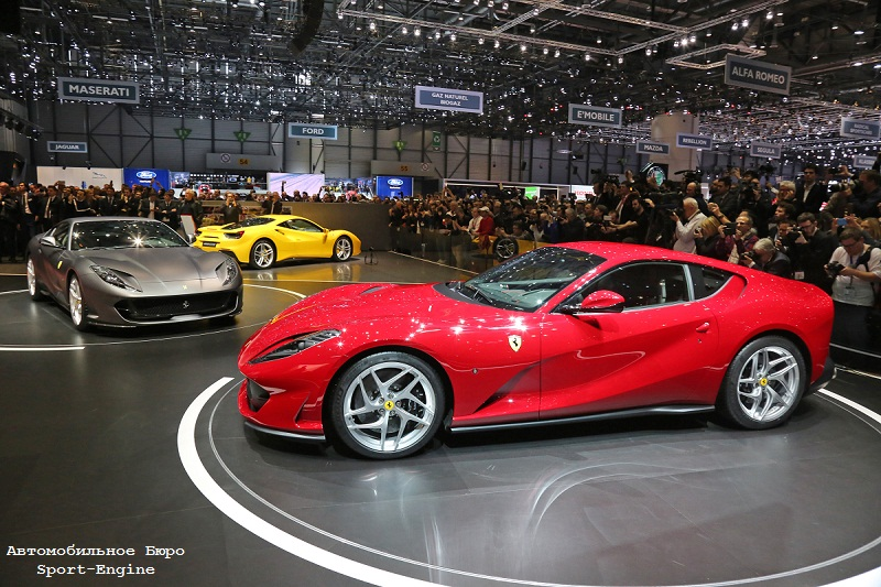 Ferrari 812 Superfast debut in Geneve-2017