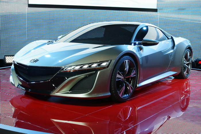 Honda NSX Concept debut in Geneve-2012