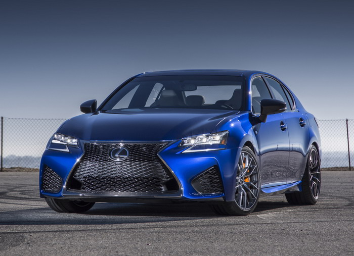 new Lexus GS F (Detroit-2015)