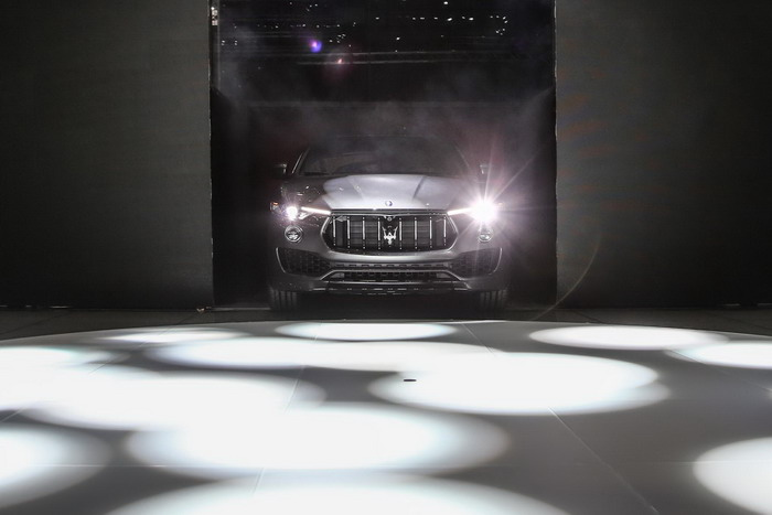 Maserati Levante start in Geneve-2016
