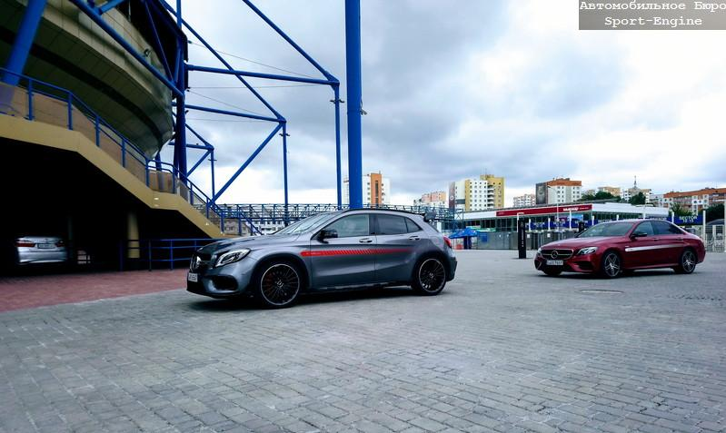 Mercede-AMG GLA45 in Mercedes-Benz Star Experience-2017 at Kharkov