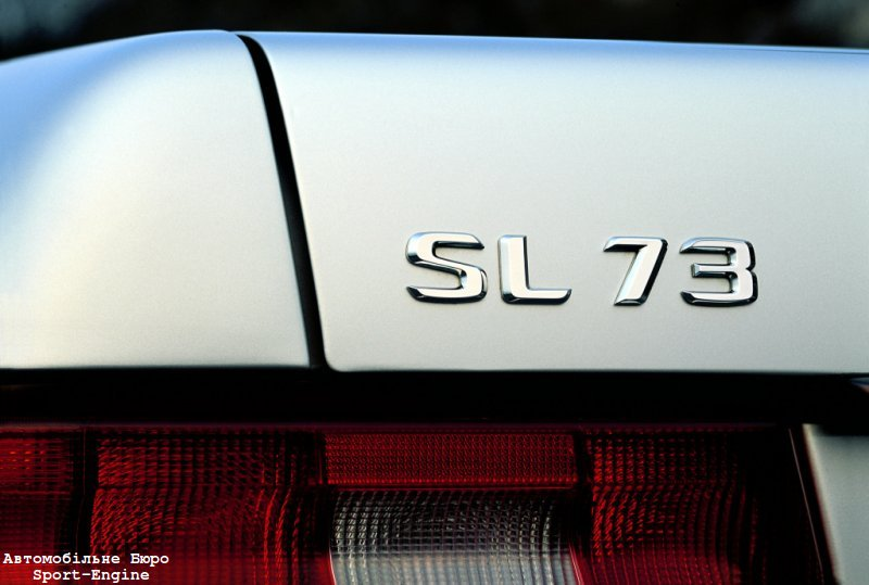 new mercedes sl without v12 but with sl 73 badge
