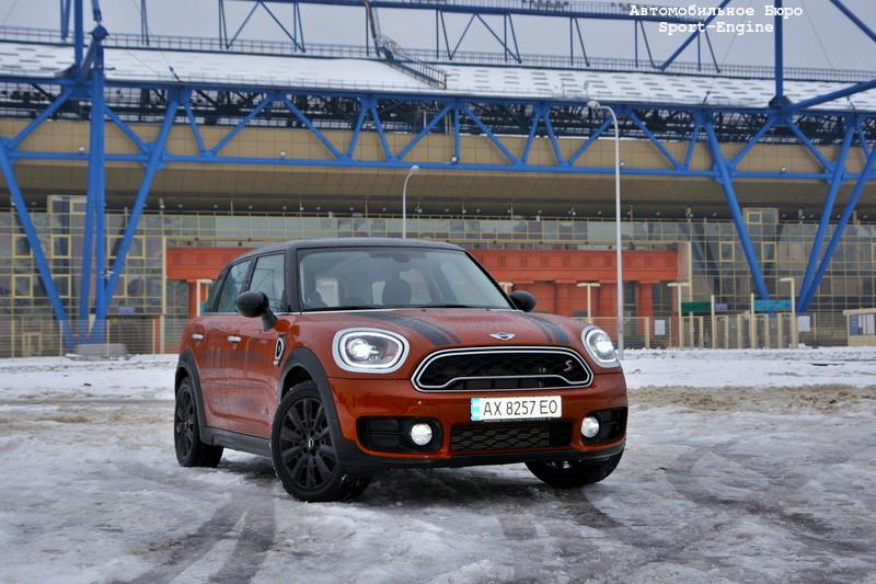 MINI Countryman COOPER SD ALL4 Mk2 test-drive