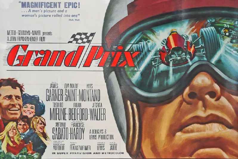 to 75th Grand Prix Monaco-2017 race Grand Prix 1966 movie tribute