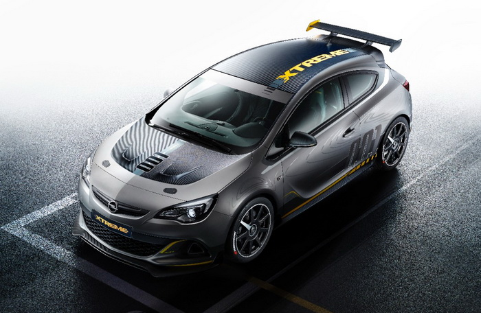 Opel Astra OPC EXTREME (debut - Geneve-2014)