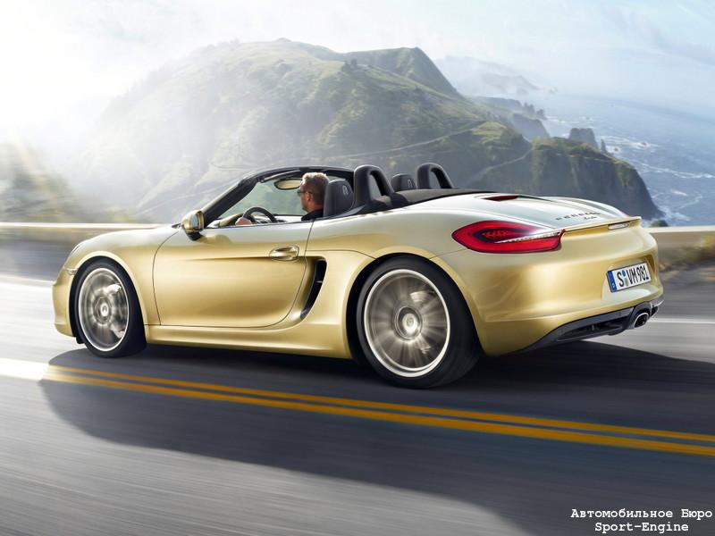 Porsche Boxster (Typ 981, debut in Geneve-2012)