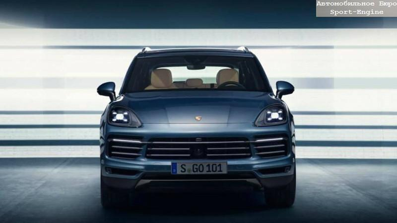 new Porsche Cayenne 2018 3 generation