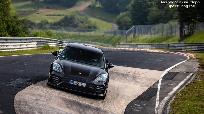 new Porsche Panamera 2021MY not yet presented but already a Nurburgring Nordschleife record holder