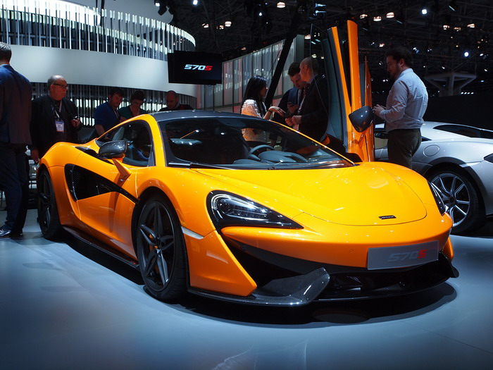 McLaren 570S 2015MY in New York