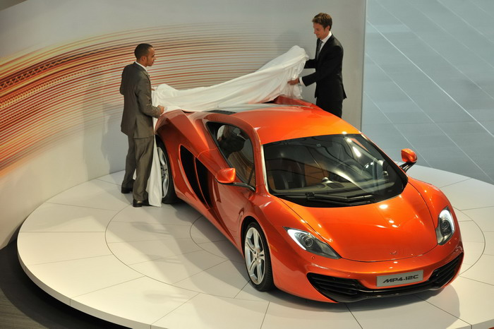 McLaren MP4-12c presentation (march 2010)