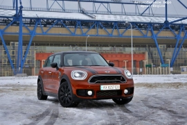 Наш тест. MINI Countryman COOPER SD ALL4: сила убеждения