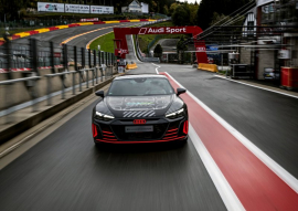 Audi e-tron GT: поява передсерійного RS e-tron GT Prototype на старті марафону «Total 24 Hours of Spa»